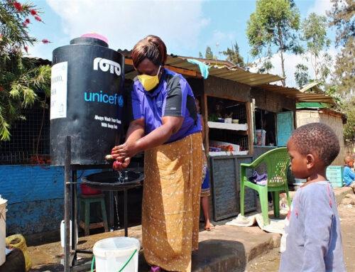 Hand washing Stations boosts business for Welder in Githogoro Informal Settlement