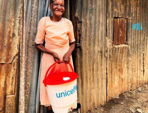 A Handwashing Vessel Helps the Vulnerable Keep Covid-19 at Bay in Kibra